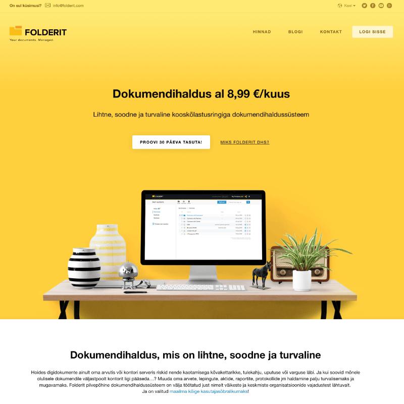 Web Design: Folderit