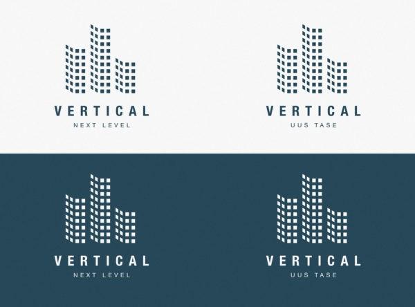 Vertical arenduse logodisain