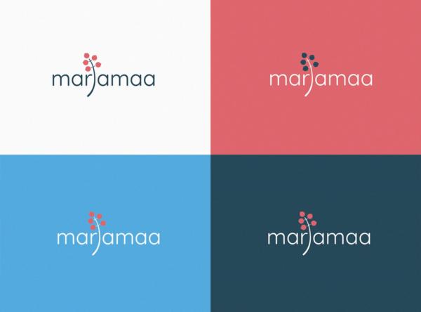 Marjamaa arenduse logodisain