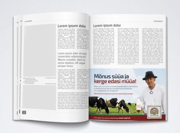 Nopri reklaam ajakirjas