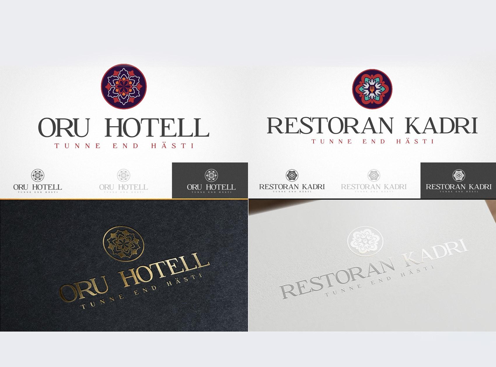 Logodisain: Oru hotell