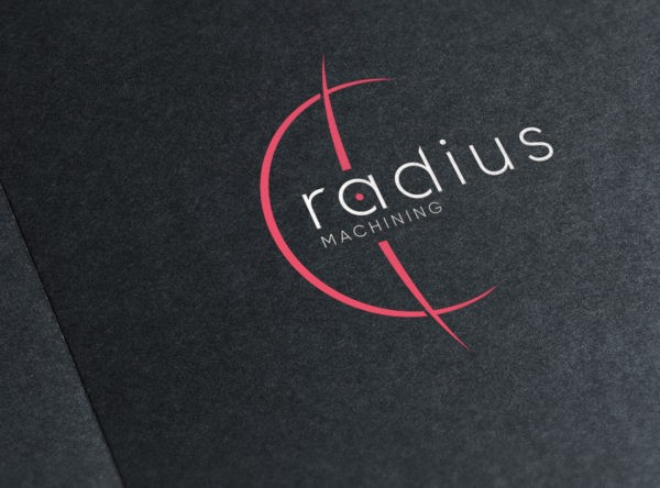 Radius Machining logodisain