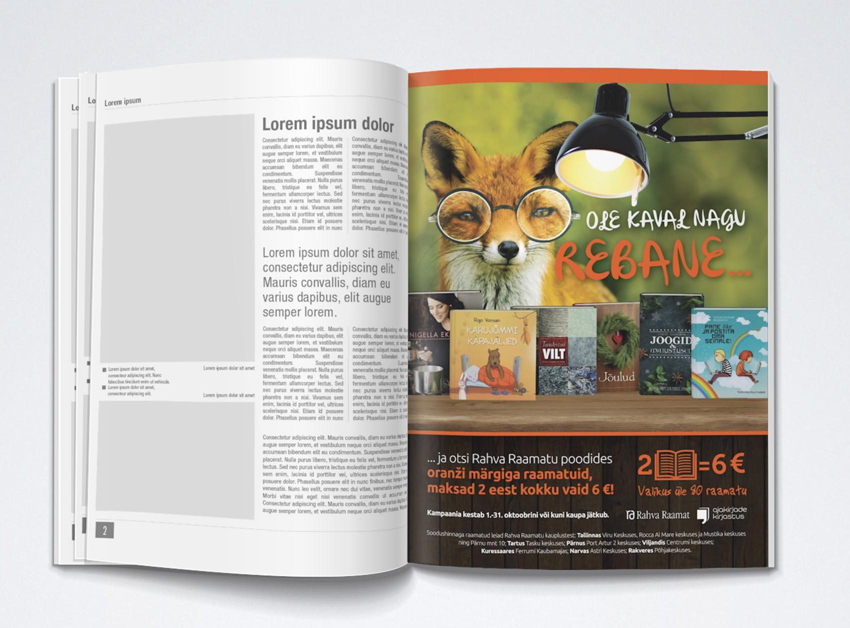 Reklaam ajakirjas