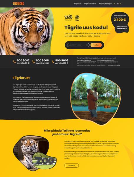 Veebidisain: Tiigriorg