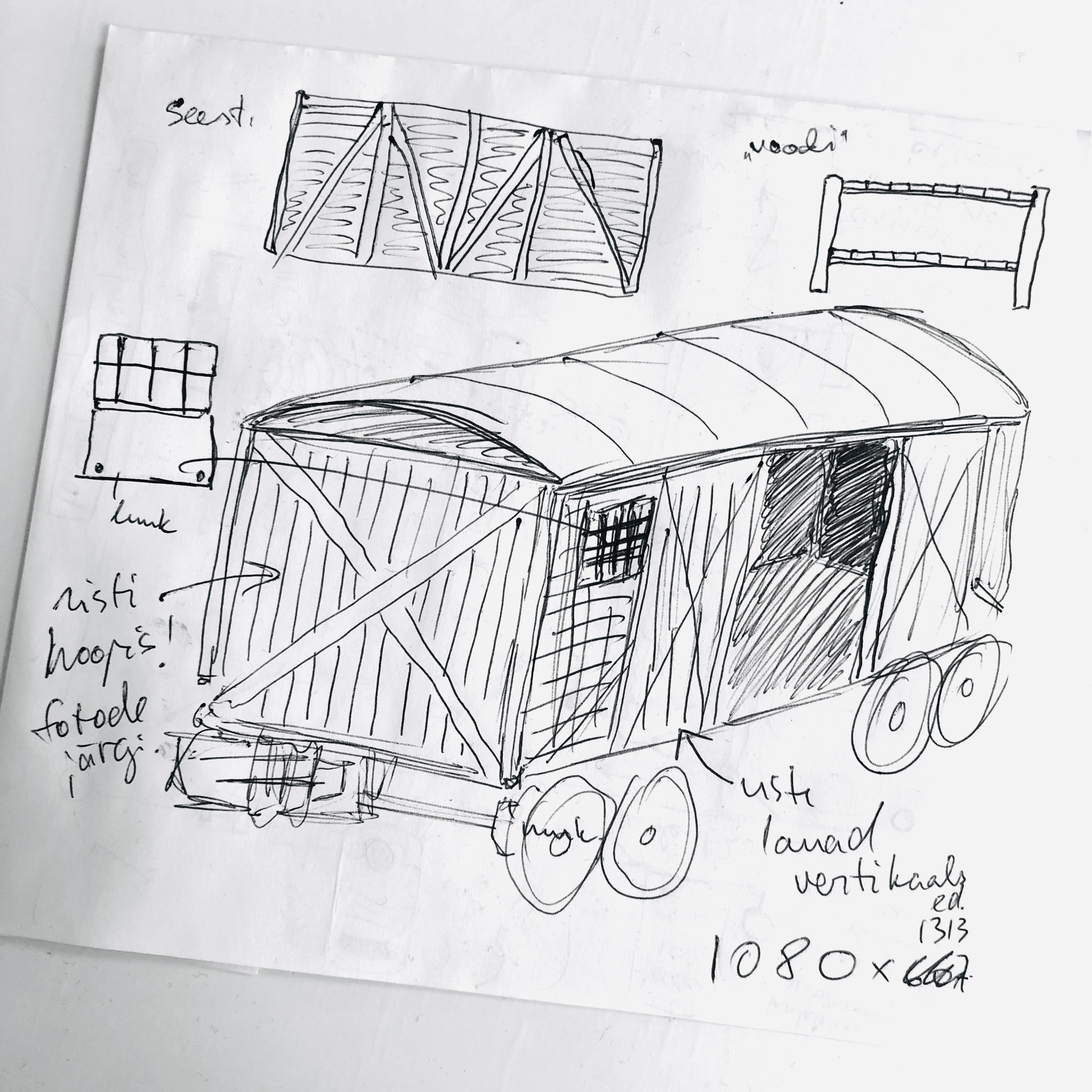 Märtsiküüditamise rongi animatsiooni kavand