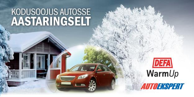 Defa auto eelsoojendid välimeedia reklaam