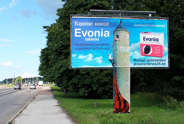 Välimeedia Evonia Rapuntsel