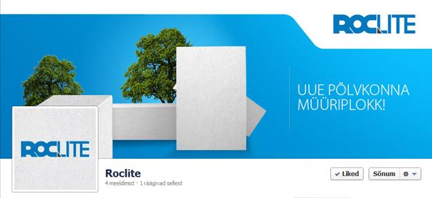 Roclite VKG Plokk Facebook ajajoon disain