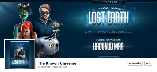 sci-fi comedy Known Universe Lost Earth